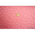 *FN02591-* Knit Jersey: Tiny Hearts on Pink